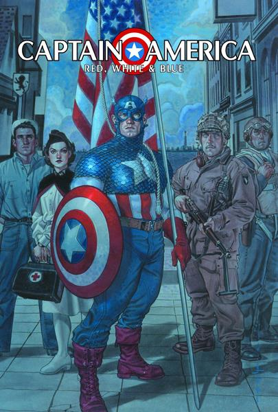 Captain America Red White and Blue
