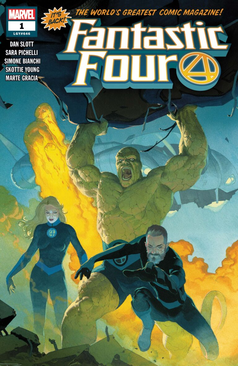 Fantastic Four 2018 #1
