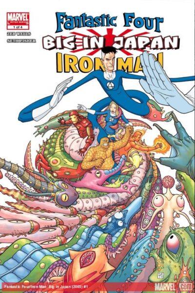 Fantastic Four Big In Japan
